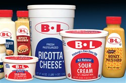 BL Sour Cream and other products sold by Alber and Leff Foods Co.