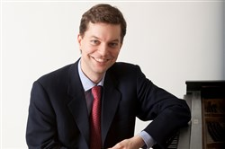 Pianist Till Fellner plays with the Pittsburgh Symphony Orchestra at Heinz Hall this weekend.