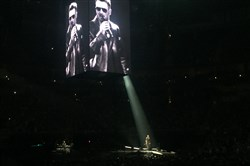 Eric Church at the PPG Paints Arena on Friday.