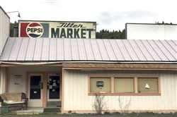 Tiller, a dot on a map in remote southwestern Oregon, is for sale for $3.5 million, including this market, and the elementary school is for sale separately for $350,000.