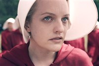 """The Handmaid's Tale,"" is based on the award-winning, best-selling novel by Margaret Atwood. The story of life in the dystopia of Gilead, a totalitarian society in what was formerly part of the United States. Elisabeth Moss stars as Offred."