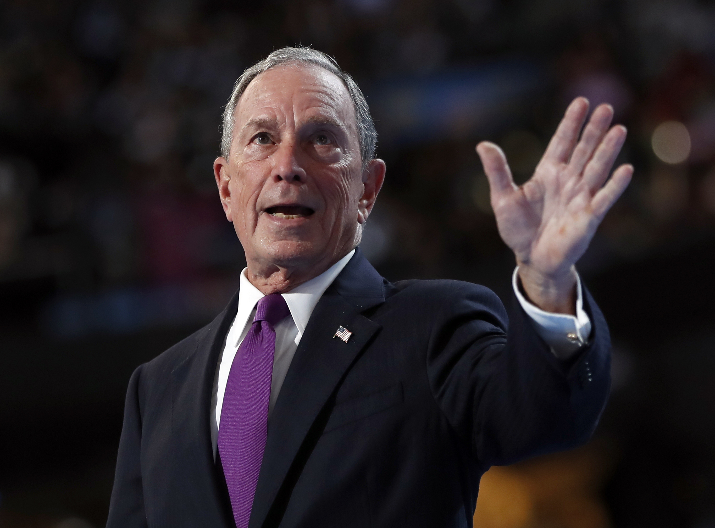 michael bloomberg world leaders ignore donald trump climate