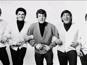 Tommy James and the Shondells: Ron Rosman, Peter Lucia, Tommy James, Mike Vale and Eddie Gray. Pittsburgh Rock and Roll legends
