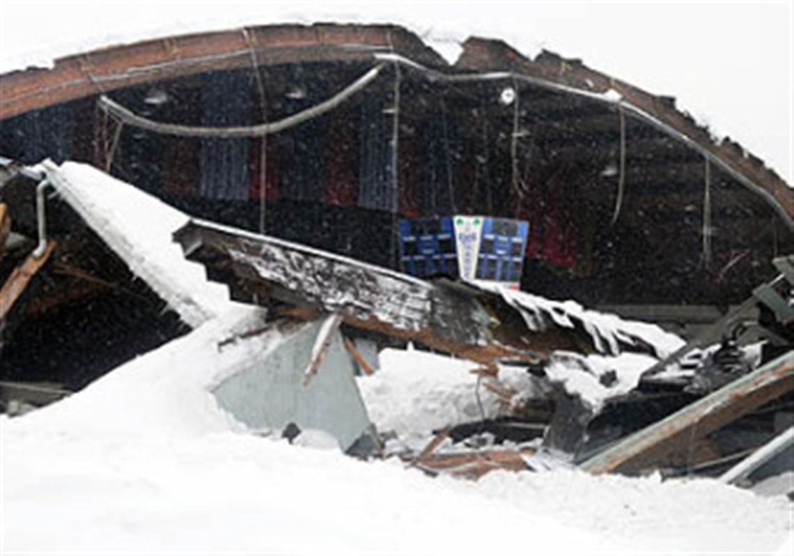 roof collapses at rostraver ice rink no one injured pittsburgh