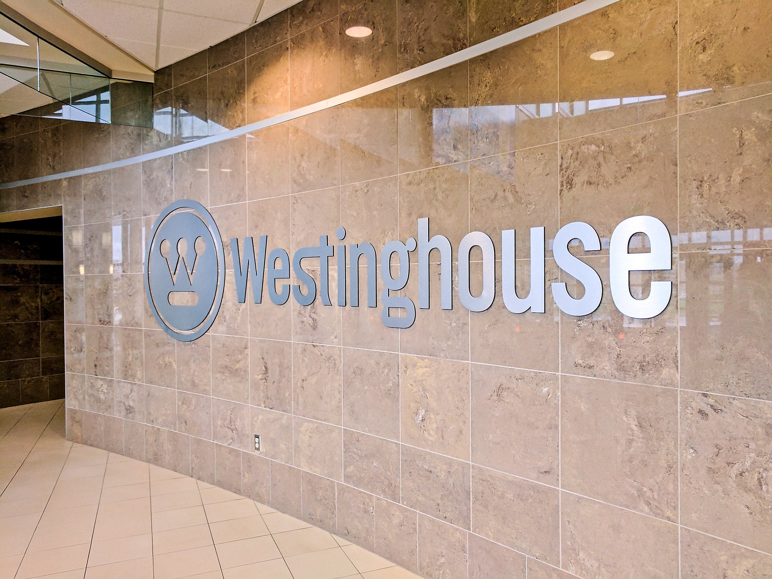 westinghouse hq lobby-3 Westinghouse's lobby in Cranberry