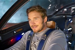 "Chris Pratt returns at Peter Quill/Star-Lord in ""Guardians of the Galaxy Vol 2."""