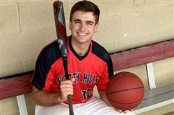 In a time when many athletes focus on one sport, Luke Chutko has been a playoff starter in three sports at North Hills.