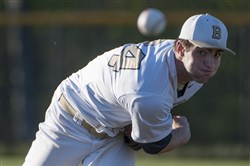 Butler's Connor Ollio struck out 51 batters in 36 innings last year and allowing only 14 hits.