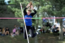 Hempfield's Molly DeBone, who finished second in the pole vault last week at the Baldwin Invitational, will be shooting for WPIAL gold Thursday.