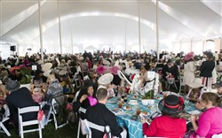 The PNC Pittsburgh Parks Conservancy Spring Hat Luncheon was held May 6 at the Schenley Park Overlook.