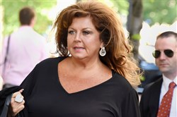 Abby Lee Miller arrives at the federal courthouse in Downtown Pittsburgh in May for her sentencing.