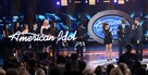 "A scene from the finale of ""American Idol"" last year."