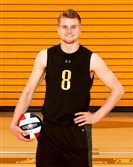 Canyon Tuman of North Allegheny, a standout on the volleyball court, is this week's male athlete of the week.