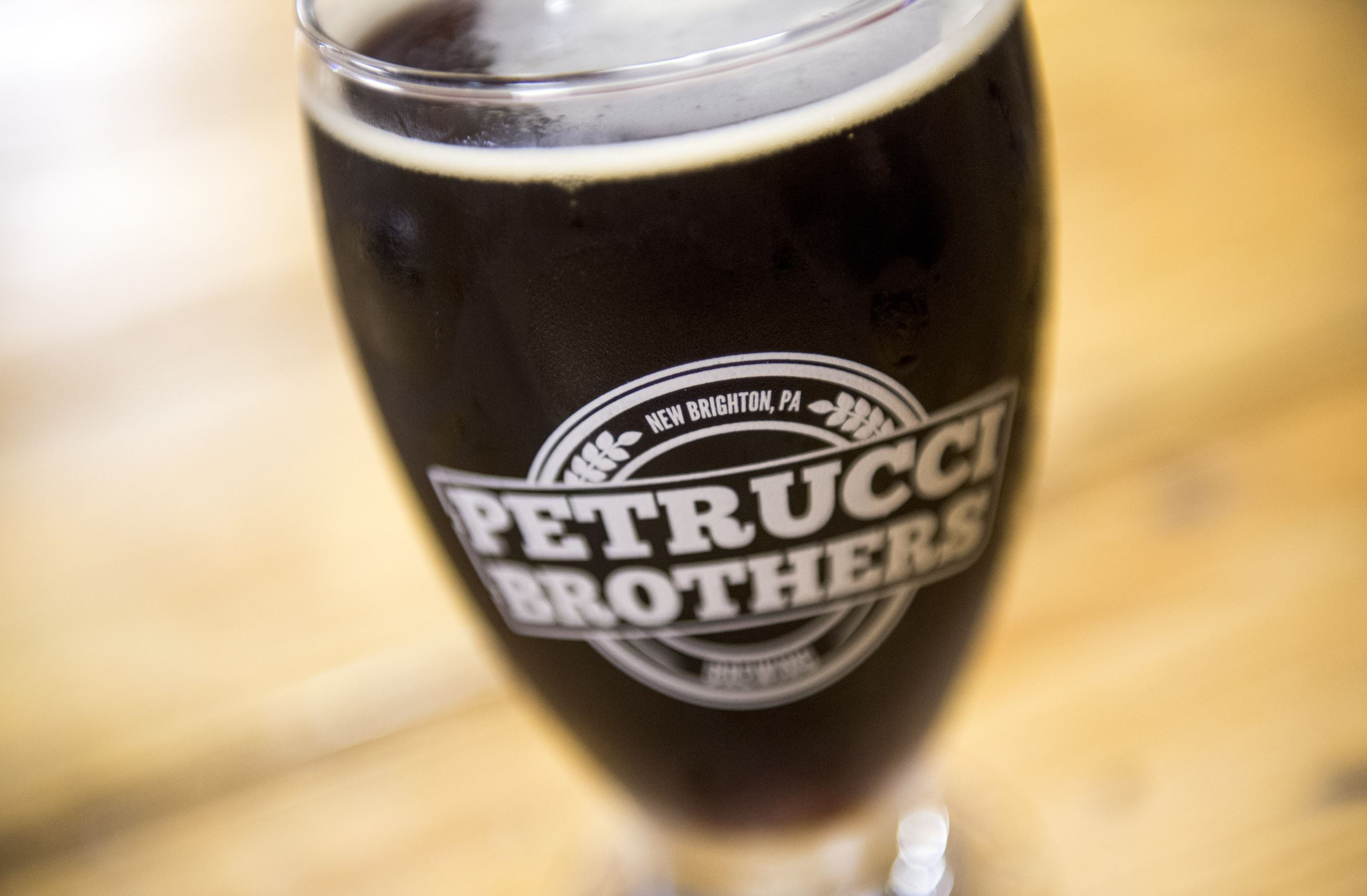 20170505scPetrucci-01-6 A smoked porter at Petrucci Brothers Brewing.