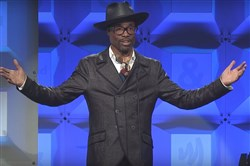 Billy Porter calls for a united front to battle discrimination at the 28th annual GLAAD Media Awards, where he was honored for promoting equality and acceptance.