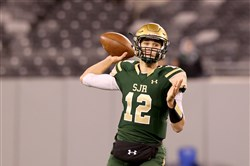 Nick Patti, a 6-foot-3 quarterback from St. Joseph Regional High School in Montvale, N.J., has committed to Pitt.