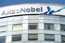 Dutch paints maker AkzoNobel said its chief executive officer, Ton Buchner, is stepping down immediately because of health reasons.