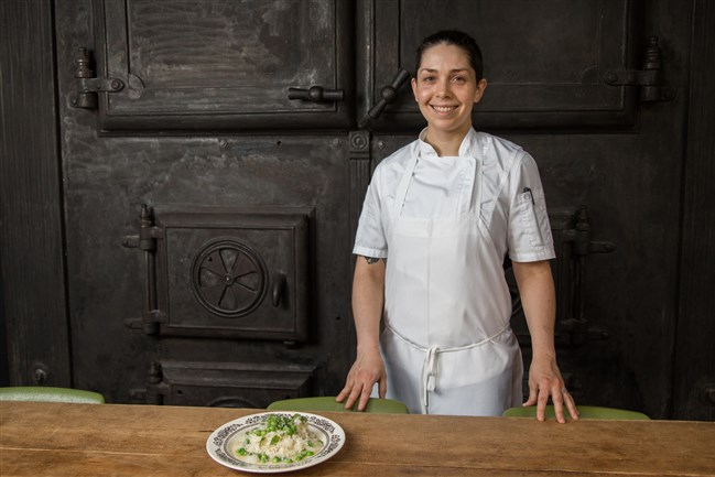 Bethany Zozula, executive chef at Whitfield at the Ace Hotel in East Liberty.