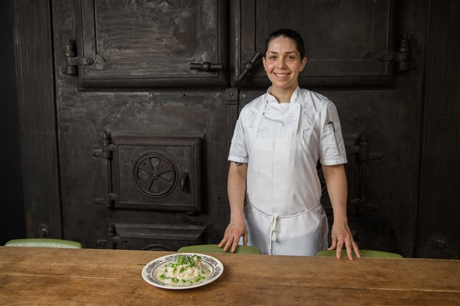 Bethany Zozula, executive chef at Whitfield at the Ace Hotel is a contender for Best Chef: Mid-Atlantic for this year's James Beard awards.