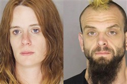 Hope Gorham and George Palmer were charged Wednesday by West Deer police with ethnic intimidation and other crimes.