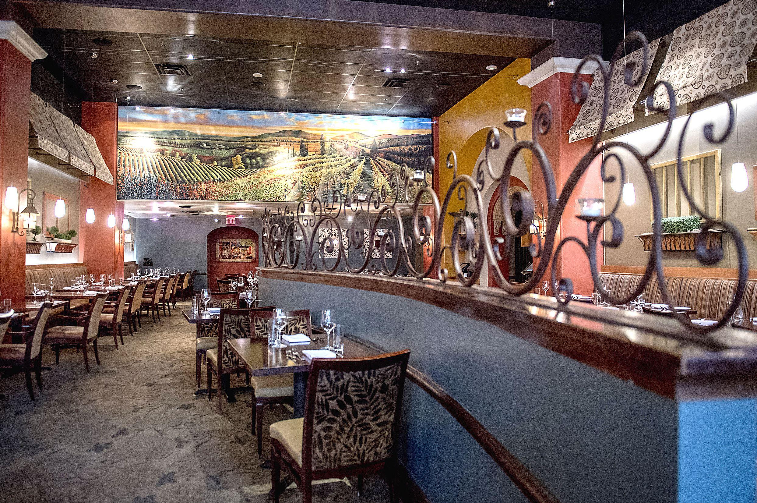20170511scLeLyonnais05-4 The main dining room at Le Lyonnais on Penn Avenue.