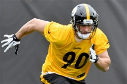 Steelers linebacker T.J. Watt