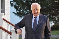 "David McCullough author of ""The American Spirit."""