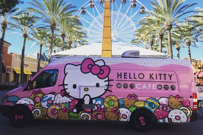 hellowKitty-2 The Hello Kitty Cafe Truck will be at the Ross Park Mall parking lot on Saturday.