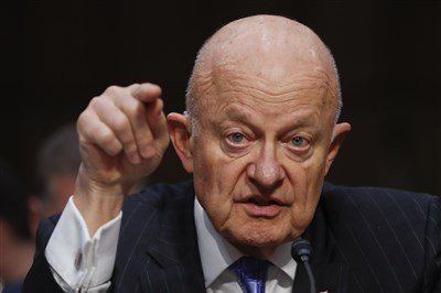 Ex-intel chief Clapper: US government  'under assault' by Trump after Comey firing