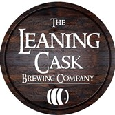 Logo for the forthcoming Leaning Cask Brewing Co. in Springdale.