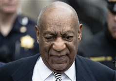 In this April 3 file photo, Bill Cosby leaves the Montgomery County Courthouse in Norristown, Pa.