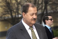 Former Massey CEO Don Blankenship in an April 6, 2016, file photo.