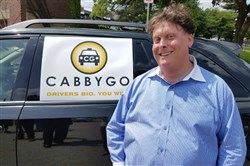 CabbyGo founder Joshua Freedman on Wednesday morning in Shadyside.
