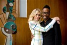 Judith Light and Billy Porter pose for a photo at the Carnegie Mellon University Alumni Awards on May 19, 2017 at the Purnell Center for the Arts at Carnegie Mellon University in Oakland. Light was awarded with the Alumni Lifetime Achievement Award and Porter was awarded an Alumni Achievement Award.