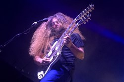 Claudio Sanchez of Coheed and Cambria at Stage AE on Thursday.