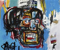 "Jean-Michel Basquiat's masterpiece ""Untitled"" sold for $110 million Thursday night, a record price for an American artist at auction."