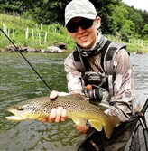U.S. Youth Fly Fishing Team member Mike Komara, 17, of Allison Park will fish in the 2017 World Youth Fly Fishing Championship in Slovenia.