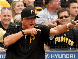 Pirates manager Clint Hurdle says he in a good place in his life.