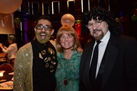 From left Adil Mansoor, Susan Haugh and Seth Rosenberg.