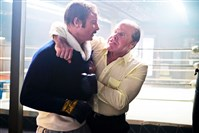 "From left, Liev Schreiber as Chuck Wepner and Ron Perlman as Al Braverman in Philippe Falardeau's ""Chuck."""