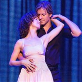 "Bronwyn Reed (Baby) and Cristopher Tierney (Johnny) in the North American tour of ""Dirty Dancing."""