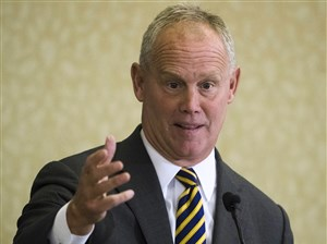 Speaker of the Pennsylvania House of Representatives, Rep. Mike Turzai, R-Allegheny.