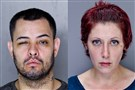 Joel Velazquez-Reyes, 39, of Brookline and Alexandra Osche, 32, of Cranberry arrested Tuesday after they were suspected in two bank robberies, one on the South Side and the other in Brookline.