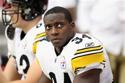 Rashard Mendenhall last played for the Steelers in 2012.