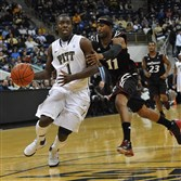 Travon Woodall was a point guard for Pitt for five years, where he tallied 75 starts in 139 career games. As a senior during the 2012-13 season, he averaged 11.5 points and 5.1 assists.