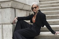 Fordham University professor Lyn Slater never planned to be a fashion icon.