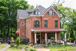 The 1890 home of Tim Denham and Rick Astle is one of 10 stops on the Observatory Hill House Tour on June 4.