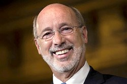 Gov. Tom Wolf said he will veto a Medicaid bill that included a work-search requirement.