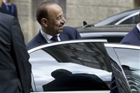 Khalid Al-Falih Minister of Energy, Industry and Mineral Resources of Saudi Arabia leaves the building of the Organization of the Petroleum Exporting Countries, OPEC, at their headquarters in Vienna, Austria, Wednesday, May 24, 2017. The OPEC oil cartel and other producers, notably Russia, are this week expected to extend last year's production cut in a concerted attempt to prevent oil prices from falling. With prices likely to fall because of an oversupply in the market if they don't, both Russia, and OPEC oil giant Saudi Arabia have spoken out in favor of an extension ahead of Thursday's meeting. (AP Photo/Ronald Zak)
