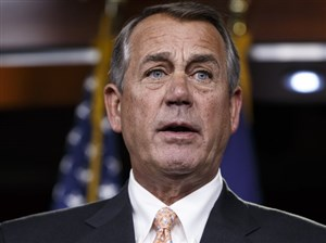 Former Republican House Speaker John Boehner of Ohio said he's been friends with Trump for 15 years, but still has a hard time envisioning him as president.